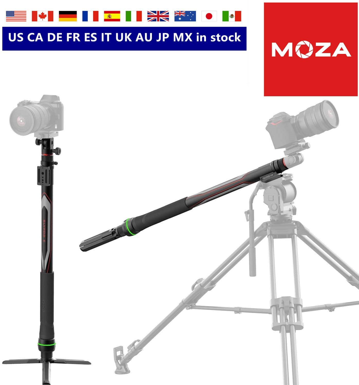 شريط التمرير MOZA Slypod E 2 في 1 بمحركات Monopod لكاميرا DSLR/SLR مع وضع دقيق والتحكم في السرعة وأوضاع التصوير المتقدمة