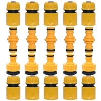 sprycle 20pc 12 hose tube connector repair adapter plug quick coupling drip irrigation 12 34 nipple fitting garden tools