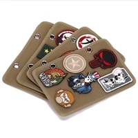 military fan morale badge tactical storage board small storage book velcro finishing board armband sticky board display cloth