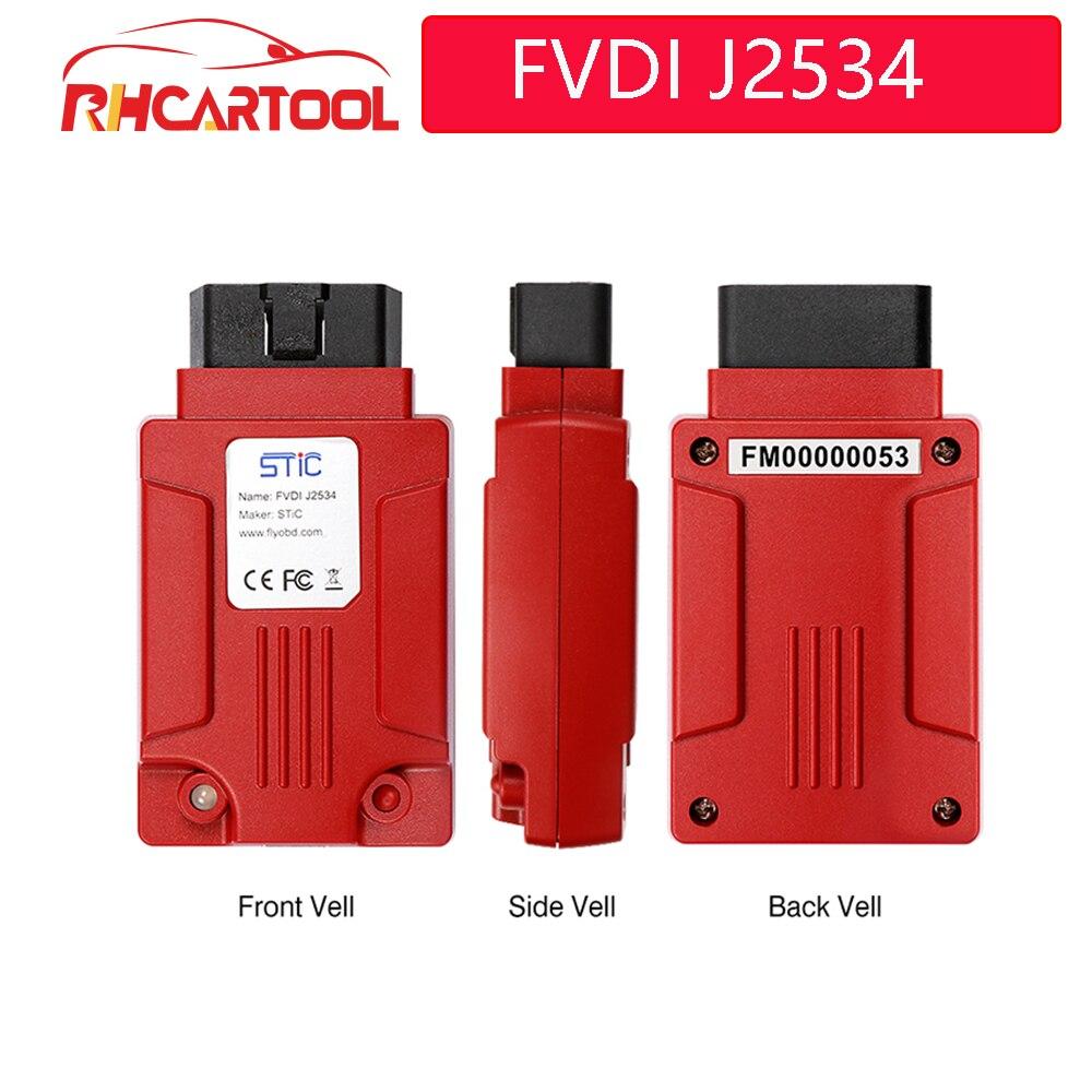 OBD2 FVDI J2534 für mazda für Fd IDS Forscan auto auto diagnose Werkzeug ELM327 Software Unterstützung Online Modul Programmierung