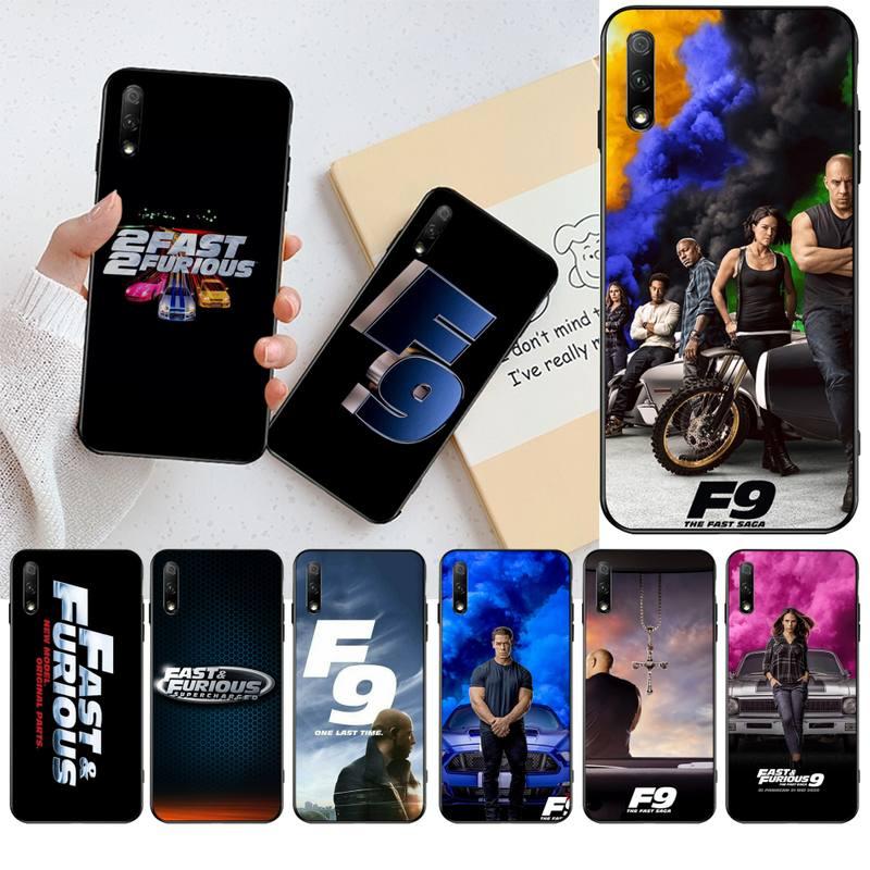 HPCHCJHM Fast & Furious 9 TPU funda de silicona suave para Huawei Honor 30 20 10 9 8 8x 8c v30 Lite view pro