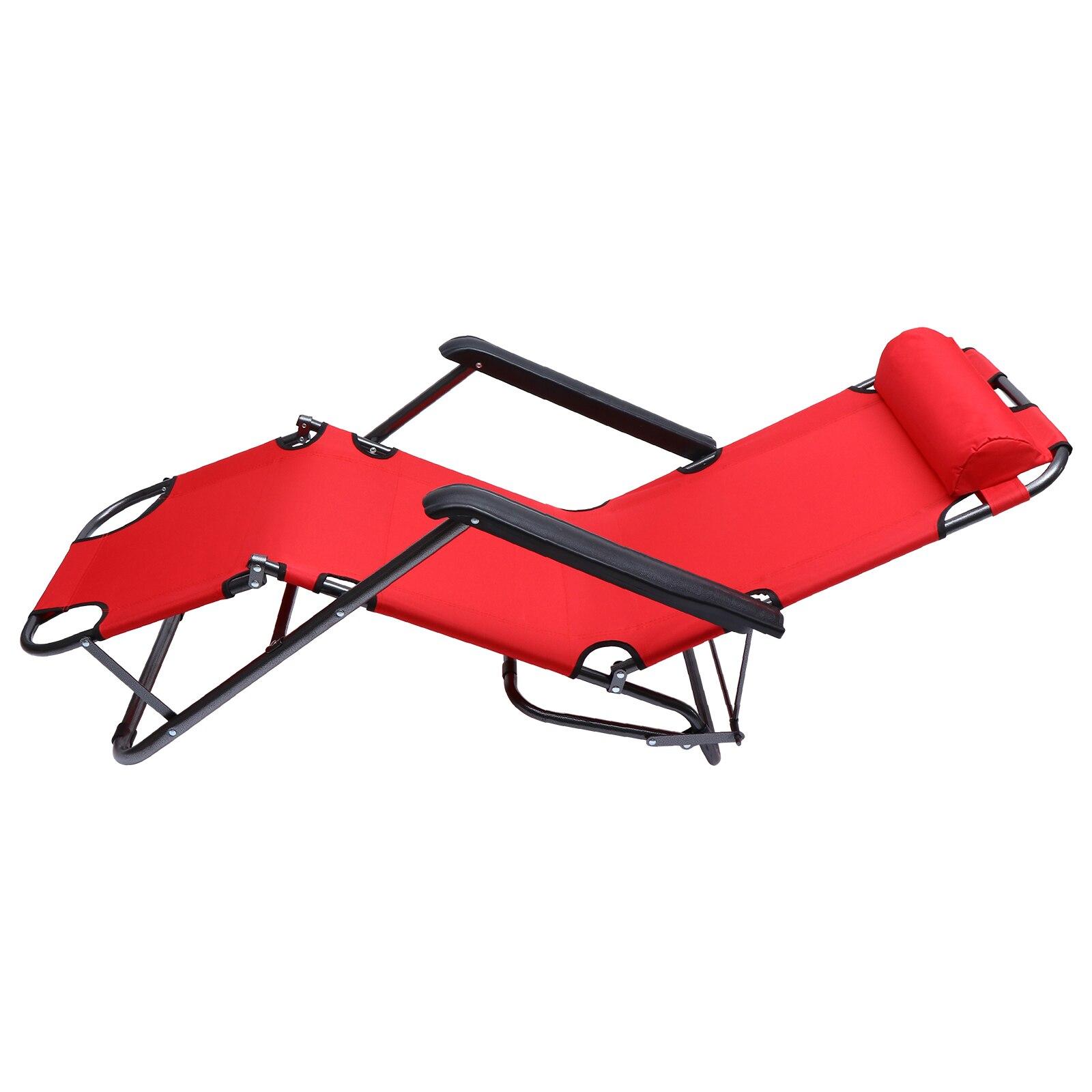 1 قطعة قابلة للطي مستلق الباحة حديقة صالة كرسي حمام سباحة ساحة الحديقة صالة كرسي