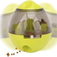 dog food dispenser ball toy interactive roly poly toy ball for dogs cats tumbler design easy to clean non toxic pets product