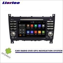 Liorlee 메르세데스 벤츠 G 클래스 W467 2004-2008 차량용 멀티미디어 네비게이션 CD DVD GPS 플레이어 Navi 라디오 스테레오 스크린 안드로이드