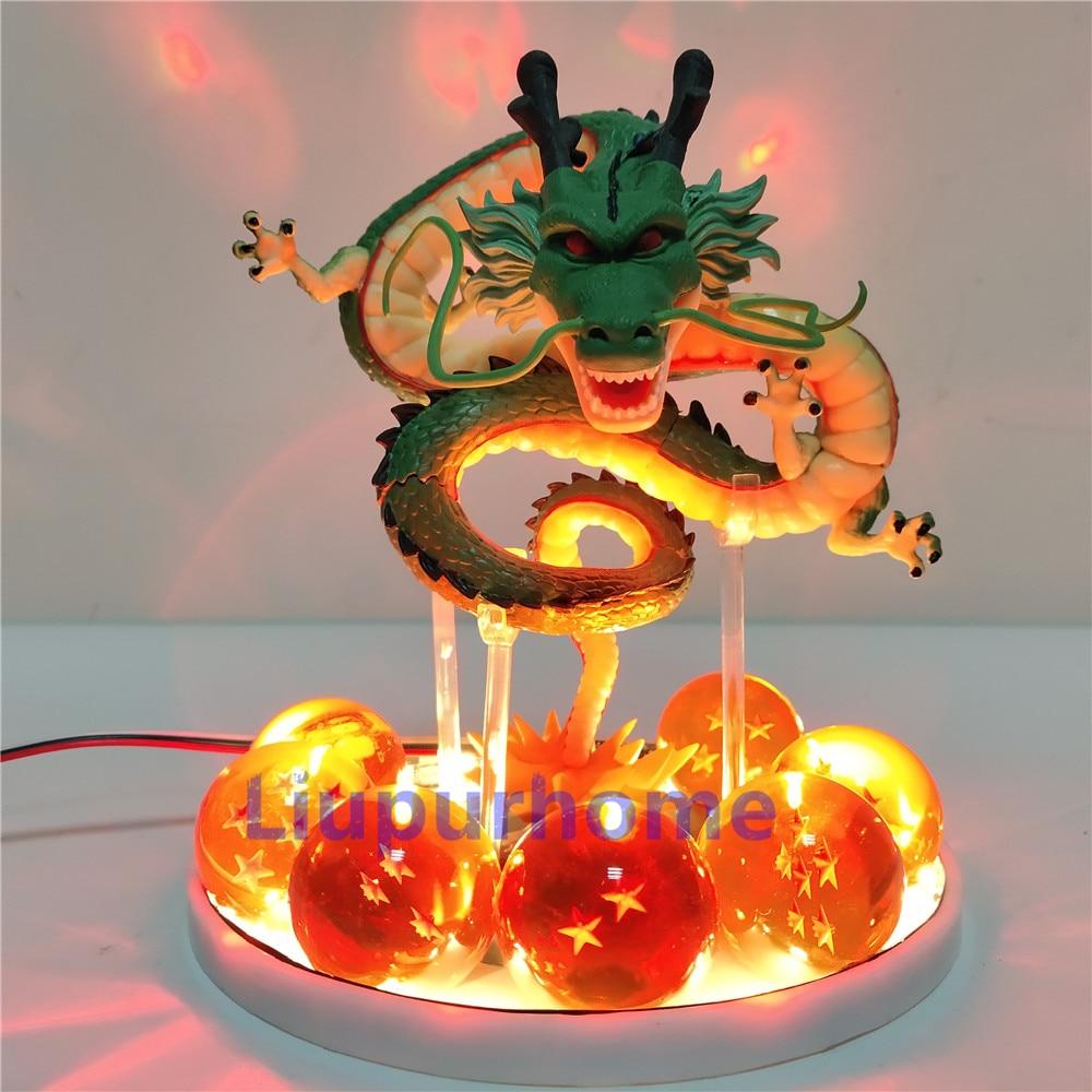 Shenron Figure LED Strip Lamp Decorative LED Night Light for Children Bedroom Crystal Ball GT Shenlong Table Lamp Gift for Kids enlarge