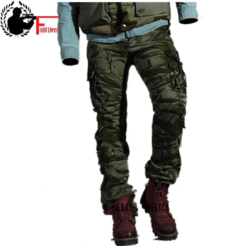 بنطلون عسكري مموه للرجال ، قطن ، وزرة قتالية تكتيكية غير رسمية ، ملابس ربيعية عصرية