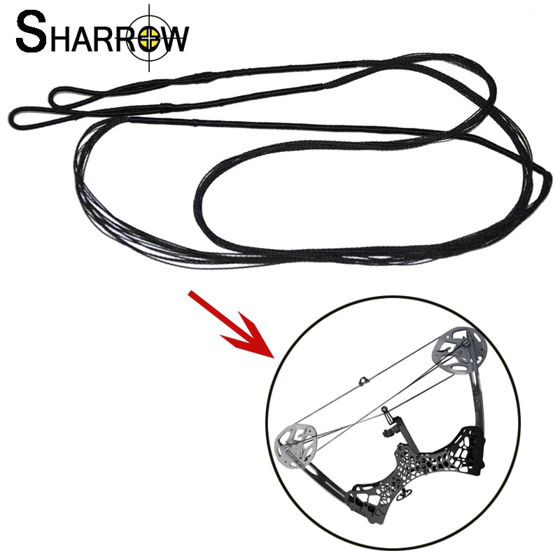 1pc Archery Compound Bow String Replacement Bowstring DIY Hunting Accessories For Outdoor Bow And Arrow Shooting Training