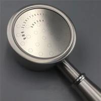 Pommeau de douche pressurise  rond  en acier inoxydable  pour salle de bain  2020