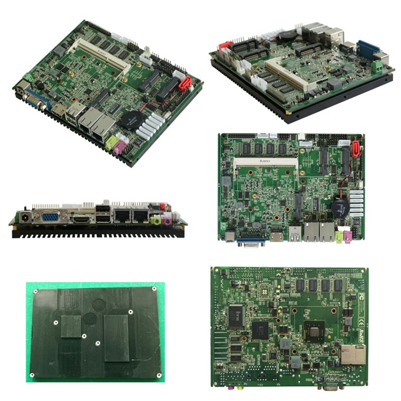 Factory best prices Intel Atom N2800 Fanless industrial Motherboard for car pc X86 embedded board