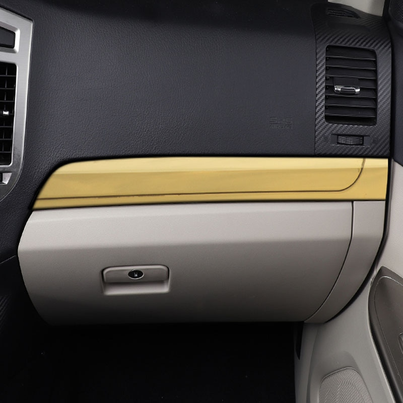 Suitable For Mitsubishi Pajero V97V93V95V98 Interior Modification Decoration Stainless Steel Central Control Trim Strip enlarge