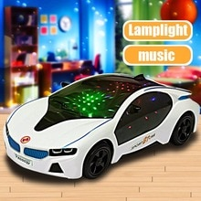 Super Cool Universal LED Light Music Electric Flashing Cars Children Kids Early Educational Car Toys