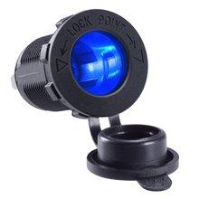 Prise allume-cigare indicateur de LED étanche 12V prise de courant pour voiture bateau marin moto Rv camion ATV