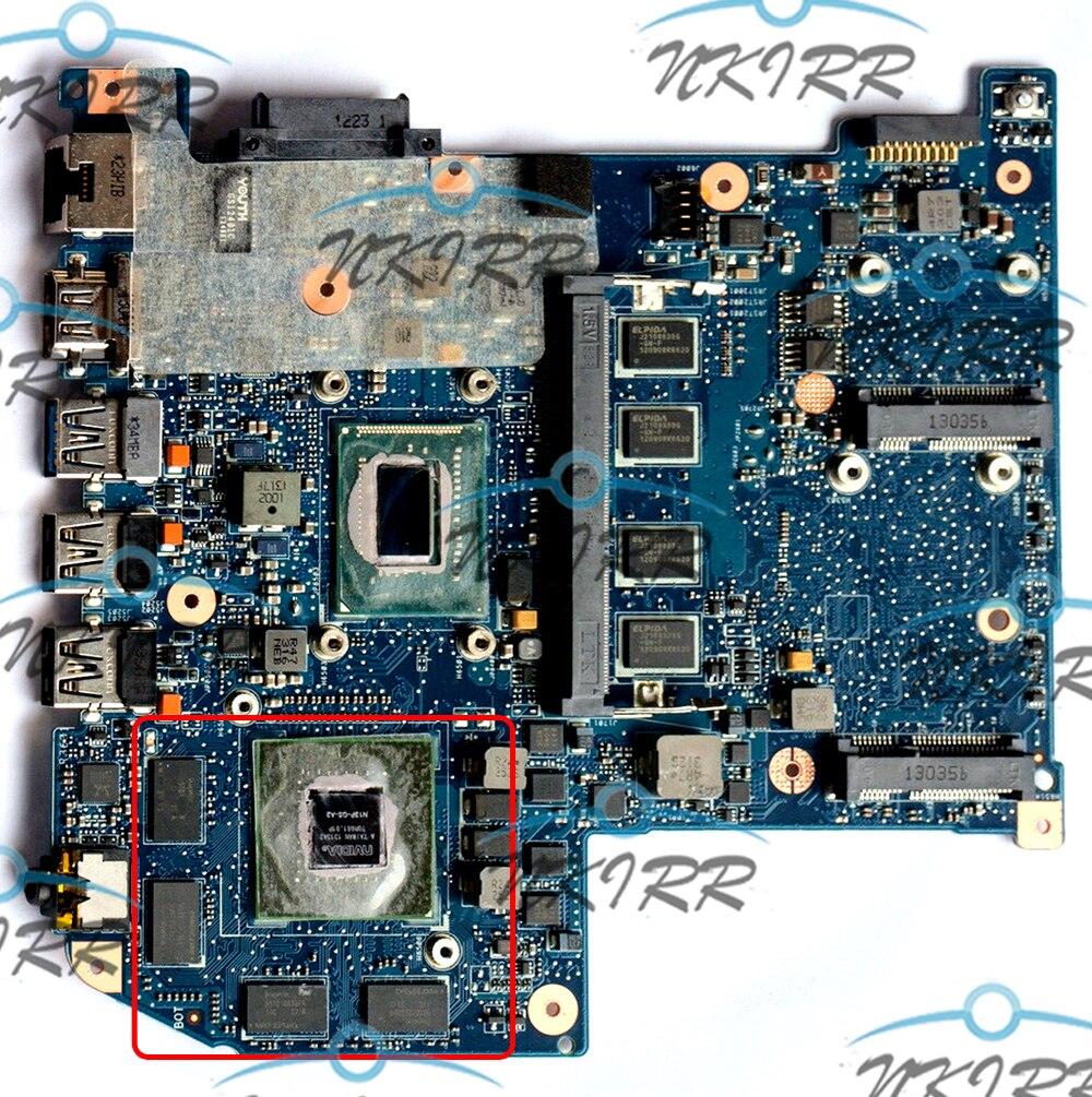 JM50 REV 2,1 NBRYX1100C NBMZ811005 I5-3317U/I5-3337U GT640M 1G для 30pin материнской платы экрана для aspire M3-581 M3-581T