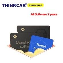 Thinkdiag с полным программным обеспечением карты для 2 года сбросить программное обеспечение активировать любое программное обеспечение PK diagzone старой версии Thinkdiag