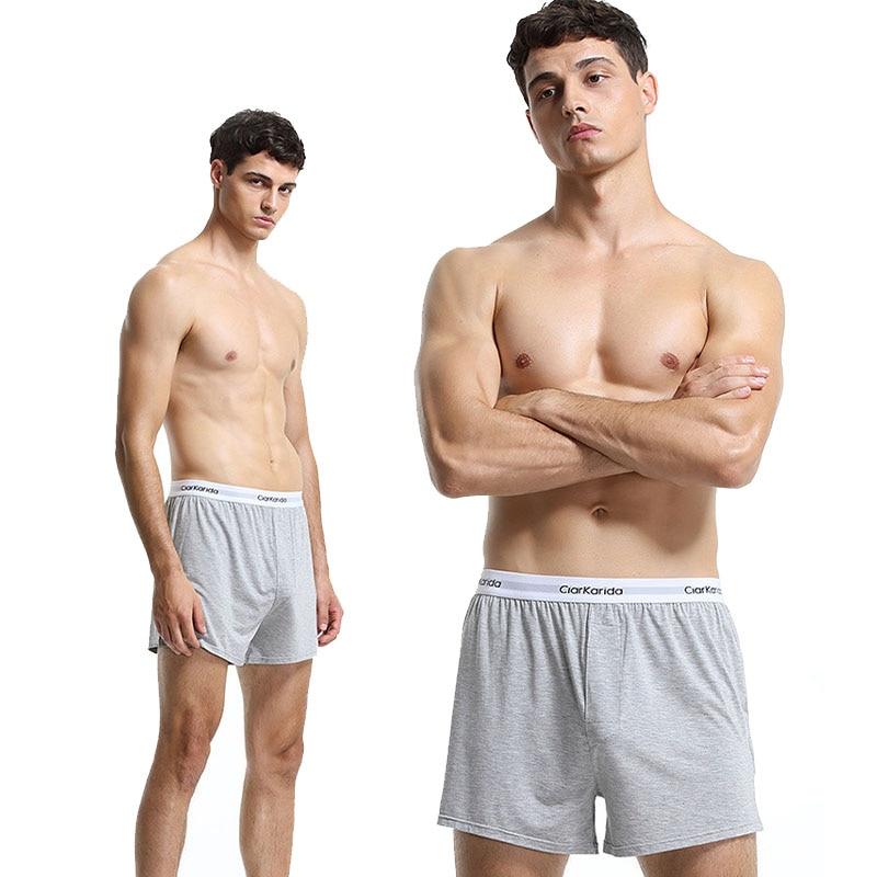 2PC/LOT Comfortable Antibacterial Men's Loose Home Underwear Arlo Pants Boxer Shorts Summer Modal Ice Siro Free Shipping