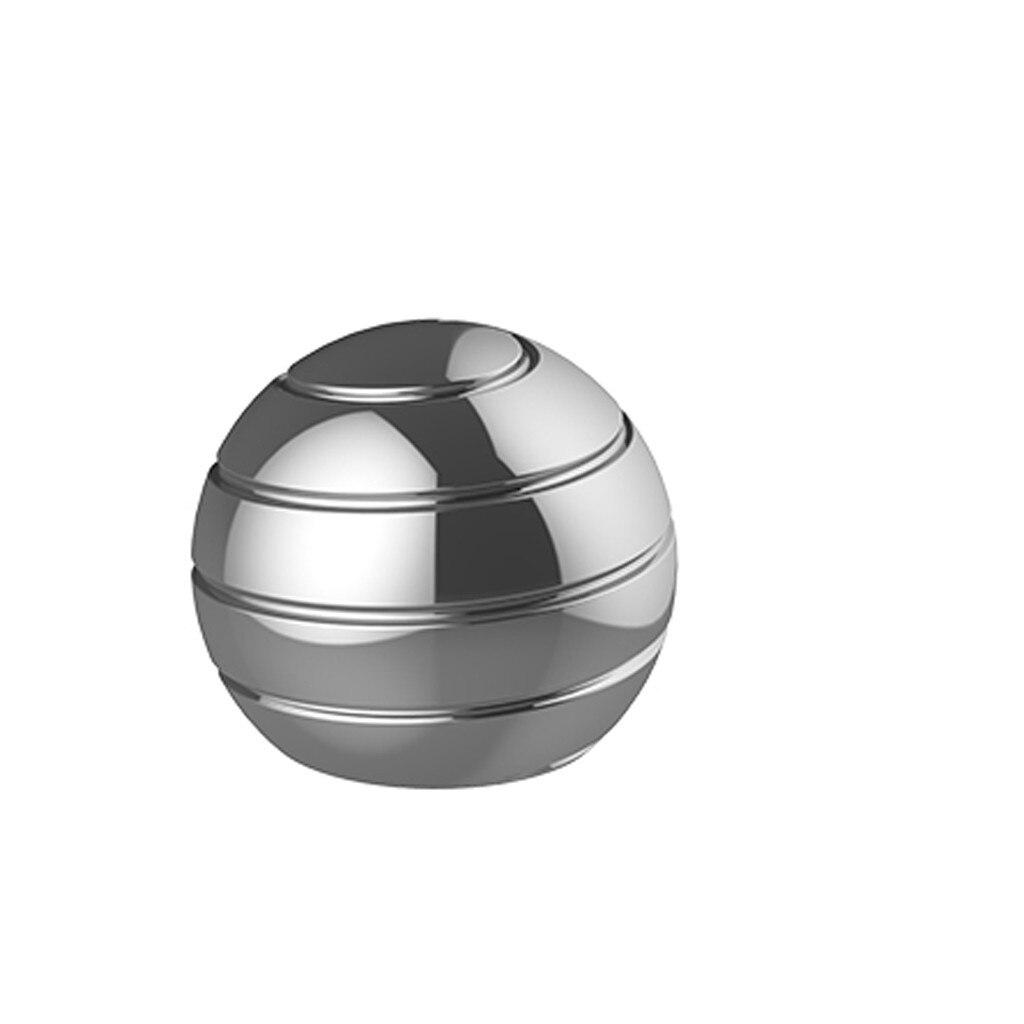 55mm Desktop Decompression Rotating Spherical Gyroscope Optical Illusion Flowing Finger Toys Office Desk Fidget Toys Adult Gifts enlarge