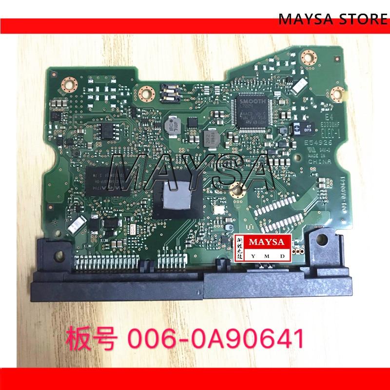 HDD PCB board 0A90641 WD6002FZWX 6 تيرا بايت إصلاح القرص الصلب 006-0A90641 HGST 001-0A90641 استعادة البيانات