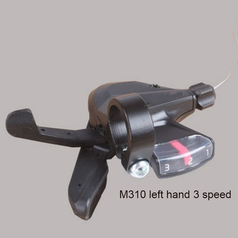 1 par de palanca de freno de bicicleta MTB City palanca de cambios dividida 3x8 velocidades palanca de pulgar manillar H7JP