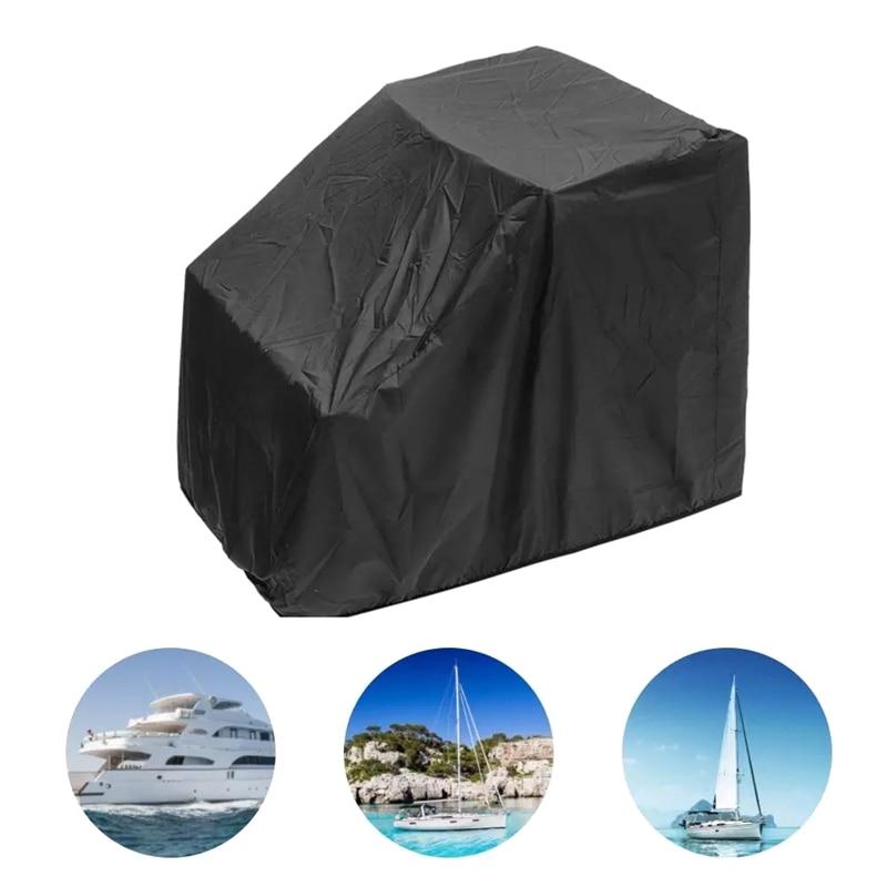Покрытие для лодки, водонепроницаемый пыленепроницаемый центральный коврик для яхты, лодки, с защитой от УФ-лучей, аксессуары для сухих лод...