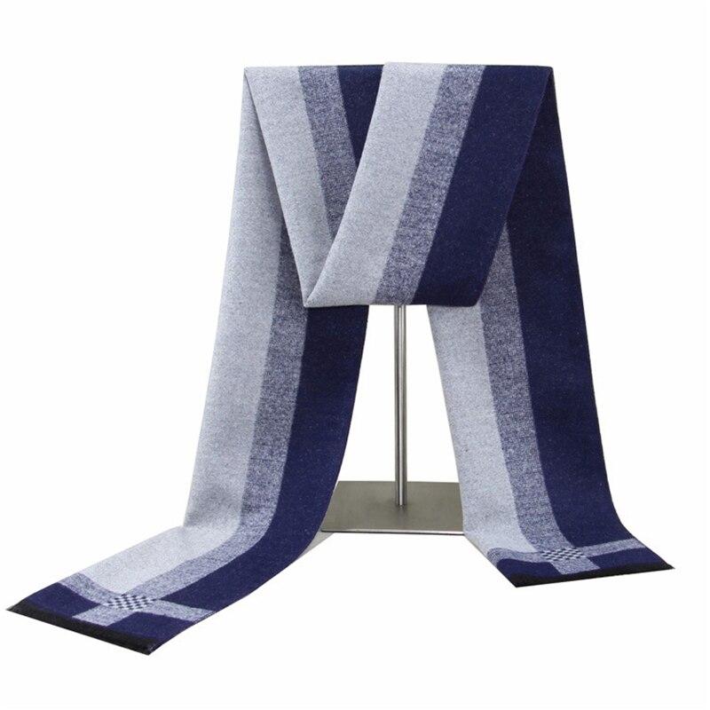 Мужской шарф, мужской шарф в европейском и американском стиле, зимний теплый шарф, мужской шарф, модный шарф