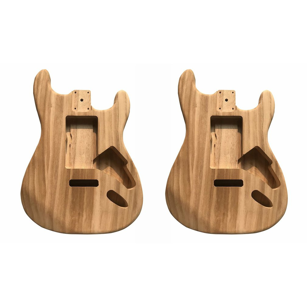 Guitar body Maple ST Electric Guitar Semi-finished Body Unfinished DIY Guitar Body Maple Body For Fender ST Style Guitar enlarge