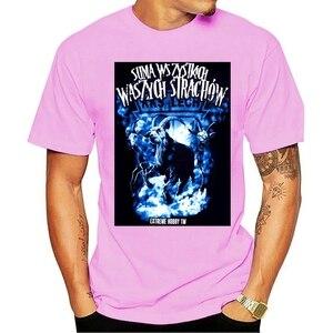 T Shirt Fashion Men t-shirt Bioshick Cricket Bat Zombies T-Shirt