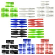 20x lame de rechange dhélice pliante pour avion SYMA X5HW X5HC X54HW X54HC X5UW X5UC 4 axes