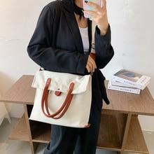 Bolsa de ombro de lona 2020 tendência feminina bolsas de luxo bolsas femininas designer shopper crossbody bags for women 2020 tote bag feminino