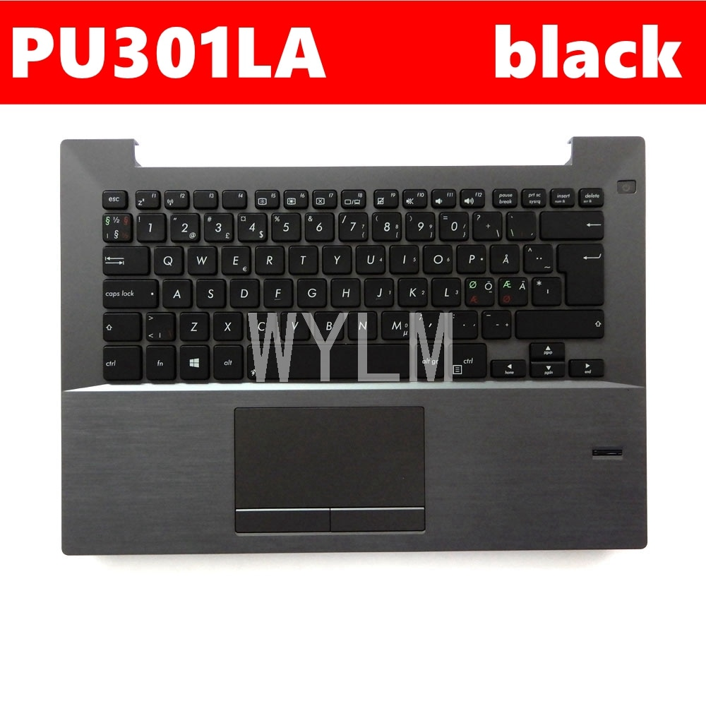 PU301LA-إطار لوحة مفاتيح الكمبيوتر المحمول C ، حافظة خارجية لأجهزة الكمبيوتر المحمول ASUS PU301 ، PU301L ، PU301LA ثنائي اللغات