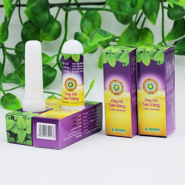Купить с кэшбэком New Vietnam Gold Tower Allergic Rhinitis Nasal Psychic Cold Headache Congestion Wake Bar Mint Rhinitis Cream Rhinitis Medicine