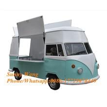 Remorque électrique mobile de cuisine de camion de nourriture de crème glacée/camionnettes/caddies