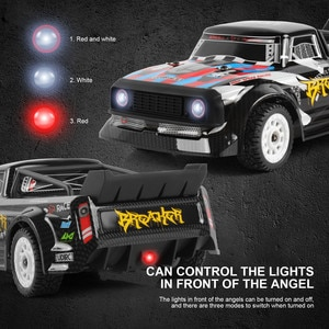 1/16 Rc High-speed Racing Car 4wd Off-road Vehicle 2.4g Remote Control Car Children Doll Toys For Kid Girl Boy Gift