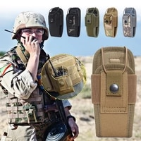 1000d tactical radio walkie talkie pouch waist bag holder pocket portable interphone holster carry bag for hunting camping