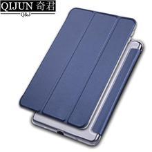 """Tablet samsung kılıfı Galaxy Tab A 9.7 """"PU deri akıllı uyku wake funda Trifold standı katı kapak çapa çanta SM-T550/T555"""