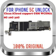 100% Unlocked Logic Main Boards Voor Iphone 5C Moederbord Met Systeem 8Gb/16Gb/32Gb