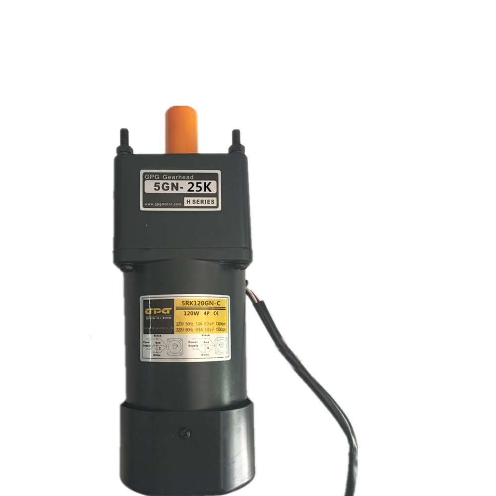 Reversible motor ac 220v 6RK180GN - C bevel gear shaft 60hz 1550rpm single phase output with gear head enlarge