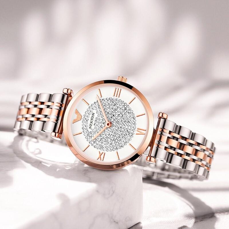 2021 nova chegada design superior relógio moda feminina quartzo movimento relógios de pulso simples à prova dwaterproof água relógio para senhoras