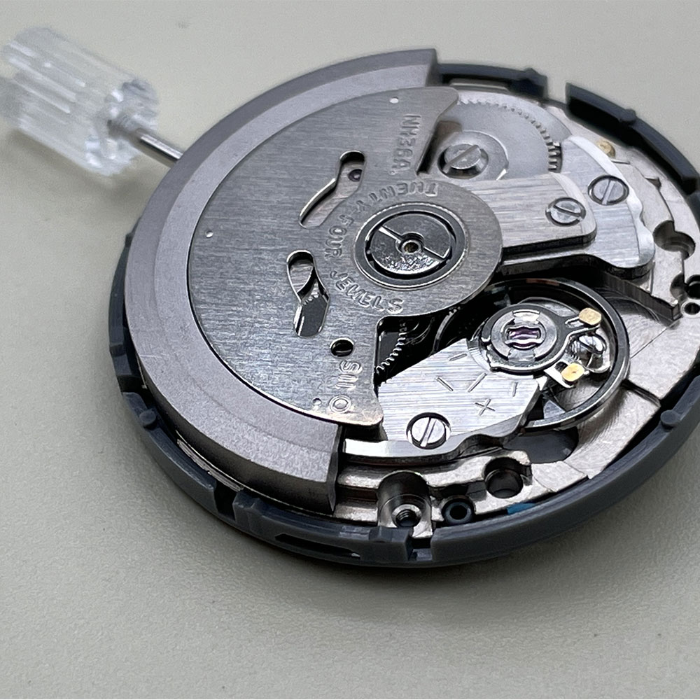 NH36 NH36A Black Date Week Automatic At 3.8 /Date Clock Crown Watch Movement Mechanical Replacement Parts enlarge