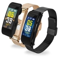 new honor band smart wristband 0 96tft screen touchpad continuous heart rate monitor push message