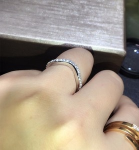 2pcs band link sona Simulated Gem wedding rings for women,925 sterling silverr wedding bands,