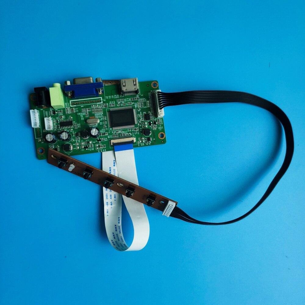 ل HB133WX1 30pin EDP LED عدة VGA LCD HDMI لتقوم بها بنفسك 1366X768 رصد عرض سائق جهاز تحكم بالشاشة مجلس 13.3