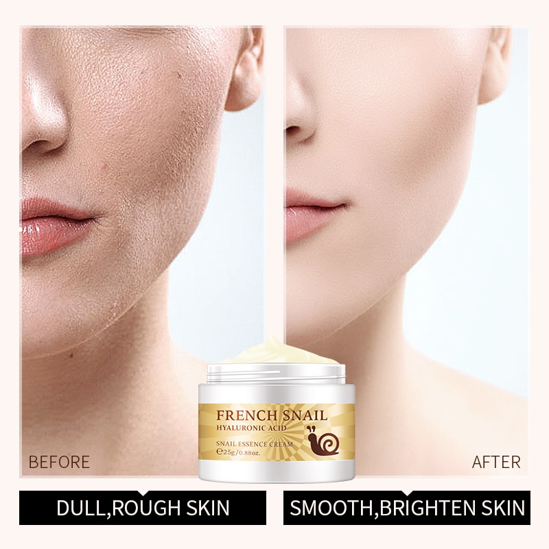 Eye Cream Day Cream Moisturizing Skin Care Snail Cream Hyaluronic Acid Essence Cream Facial Anti-aging Wrinkles 2021 New