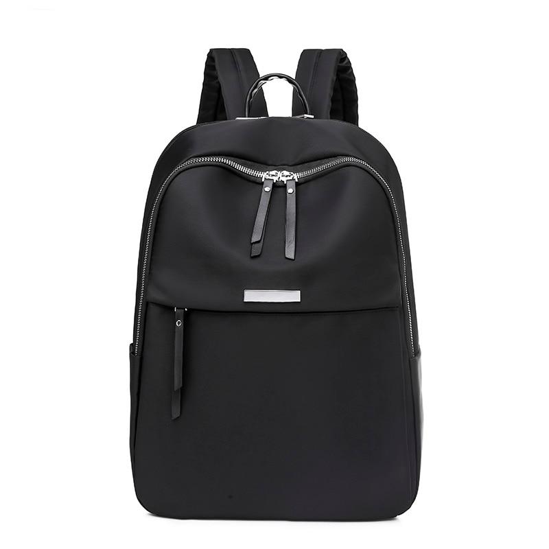 New 2021 Female Pack Oxford Women Backpack Fashion Preppy Style Backpacks for Girls Bookbag Rucksack