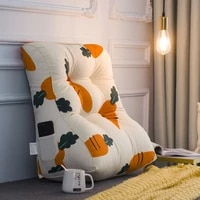 striped luxury cotton cushion bedroom modern chair comfy cushion for living room sofa cojines decorativos home garden bl50kd