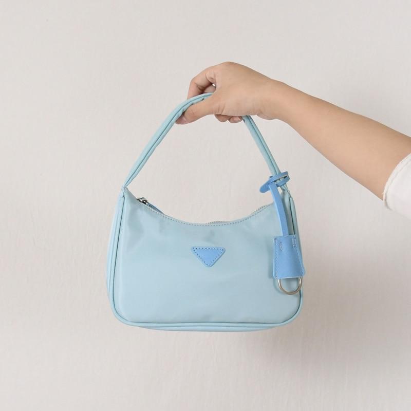NEW 2020 Women Small Tote Bag  Single Shoulder Bags Satchel Armpit Underarm Package Fashion Elegant Style Handbags Party Clutch