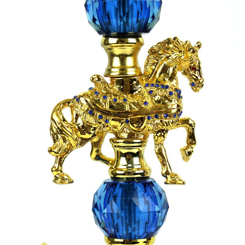 New Hot Sale 50cm Exquisite Hookah Full Set Arabian Shisha Double animal Hookah Accessories Bar KTV gift enlarge