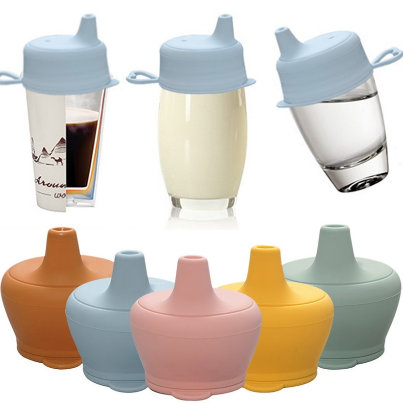Silicon Baby Feeding Cups Fashion Baby Drinkware Sippy Cups For Toddlers Kids With Silicone Sippy Cup