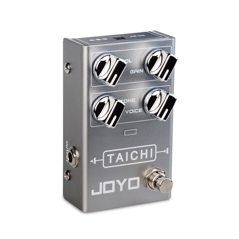 Taichi Overload Guitar Effects Low Gain Overload Electric Guitar Effects Adjust The Eq Frequency Band Joyo R02 Guitar Effects enlarge