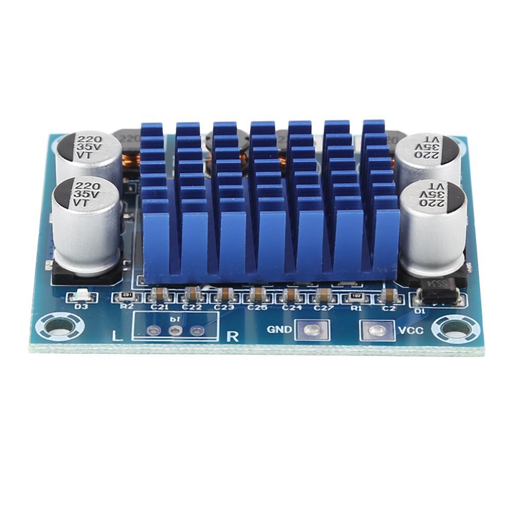 Двухканальный цифровой стерео аудио усилитель мощности 30 Вт плата постоянного тока 8-26 в класс D 4 Ом-8 Ом MP3 модуль усилителя мощности для MP3 HW-404