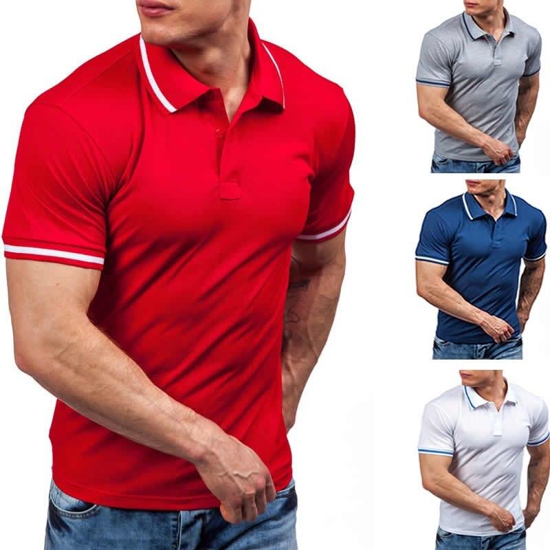 ZOGAA Hot Sale 2020 Summer Fashion Trend High Quality Men's Polo Shirt Men's Cotton Short Sleeve Shirt Brand Jersey